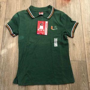 Colosseum Athletics Miami Hurricanes Green Orange